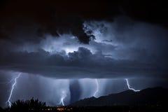 Relâmpago de Tucson Imagem de Stock