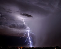 Relâmpago de Tucson Fotografia de Stock Royalty Free