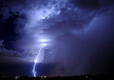 Relâmpago de Tucson Fotografia de Stock