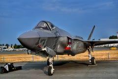 Relâmpago II de Lockheed F35 imagem de stock royalty free