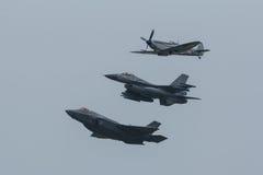 Relâmpago II de Lockheed Martin F-35 fotos de stock