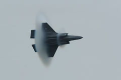 Relâmpago II de Lockheed Martin F-35 imagens de stock
