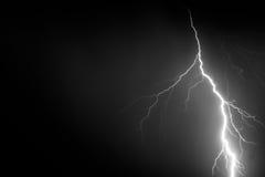 Relâmpago, tempo e tempestades Imagem de Stock