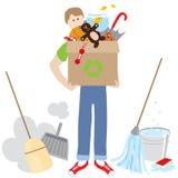 relèvement de nettoyage Photos libres de droits