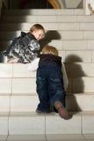 Relèvement des escaliers Photo stock