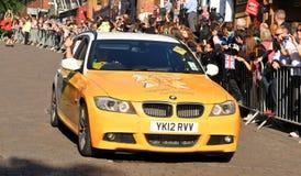 Relé olímpico da tocha de Londres 2012 Foto de Stock Royalty Free