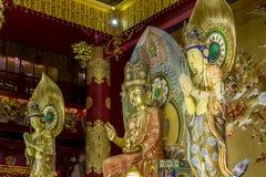 A relíquia de Lord Buddha Chinese Buddha Tooth, Singapura Foto de Stock
