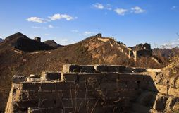 Relíquia do Grande Muralha Imagem de Stock