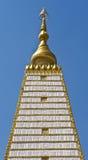 Relíquias Chedi Si Maha Phot. Ubon. Fotos de Stock Royalty Free