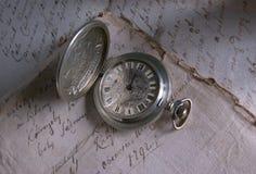 Relógio à antiga Fotografia de Stock