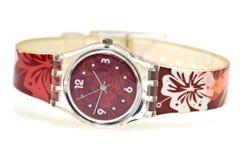 Relógio à moda do wristlet Fotografia de Stock Royalty Free