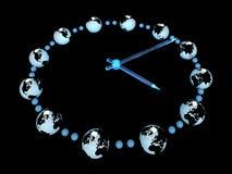 relógio 3d Ilustração Stock