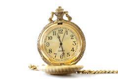 Relógio antigo Imagens de Stock