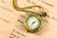 Relógio antigo Fotos de Stock