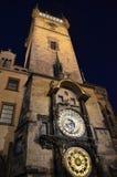 Relógio astronômico de Praga Foto de Stock