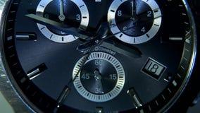 Relógio bonito com uma segunda mão vídeos de arquivo