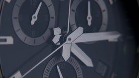 Relógio bonito com uma segunda mão filme