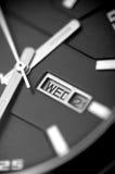 Relógio cinzento para homens Foto de Stock
