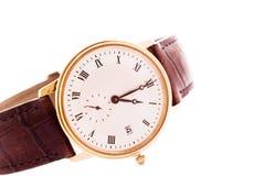 Relógio clássico dos homens Foto de Stock