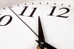 Relógio com seletor branco Imagens de Stock