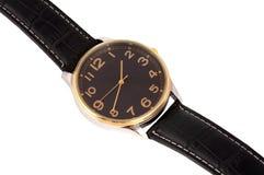 Relógio com uma cinta imagem de stock royalty free
