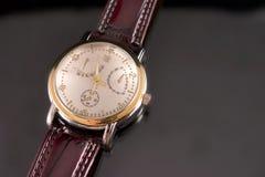 Relógio da cronografia Fotografia de Stock Royalty Free