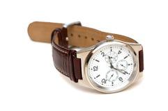 Relógio da mão isolado Imagens de Stock Royalty Free