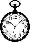 Relógio de bolso ilustração royalty free