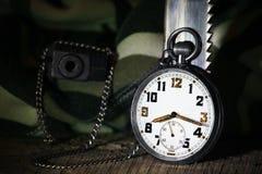Relógio de bolso Fotografia de Stock