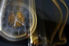 Relógio de bolso borrado Foto de Stock Royalty Free