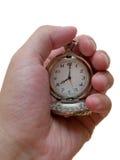 Relógio de bolso. conceito do tempo Fotos de Stock