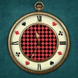 Relógio de bolso da fantasia ilustração royalty free