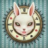 Relógio de bolso da fantasia ilustração do vetor