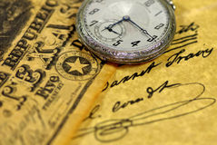 Relógio de bolso de Texas. imagem de stock royalty free