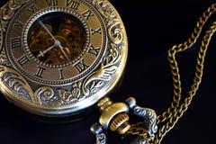 Relógio de bolso do ouro Imagens de Stock Royalty Free