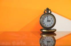 Relógio de bolso do vintage Imagens de Stock Royalty Free