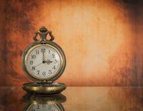 Relógio de bolso do vintage Foto de Stock Royalty Free