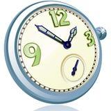 Relógio de bolso do vintage. Fotos de Stock
