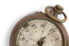 Relógio de bolso quebrado do vintage Imagens de Stock Royalty Free