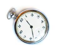 Relógio de bolso retro velho Imagem de Stock