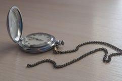 Relógio de bolso soviético velho imagem de stock