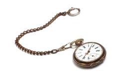 Relógio de bolso velho Imagens de Stock Royalty Free