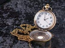 Relógio de bolso velho Foto de Stock Royalty Free