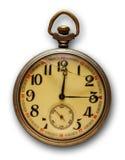 Relógio de bolso velho Fotografia de Stock