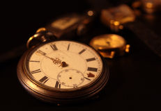 Relógio de bolso velho Foto de Stock