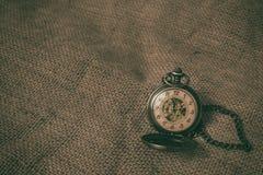 Relógio de bolso velho do vintage Imagem de Stock Royalty Free