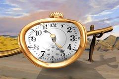 Relógio de derretimento ilustração stock