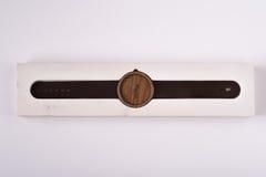 Relógio de madeira Foto de Stock