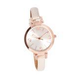 Relógio de ouro da mulher Foto de Stock