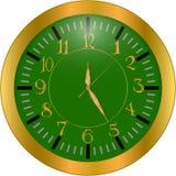Relógio de ouro do vintage Foto de Stock